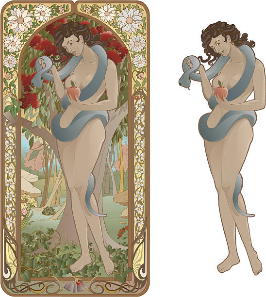 Eve vector art illustration