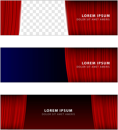 celebration event rectangular banner copy space template design