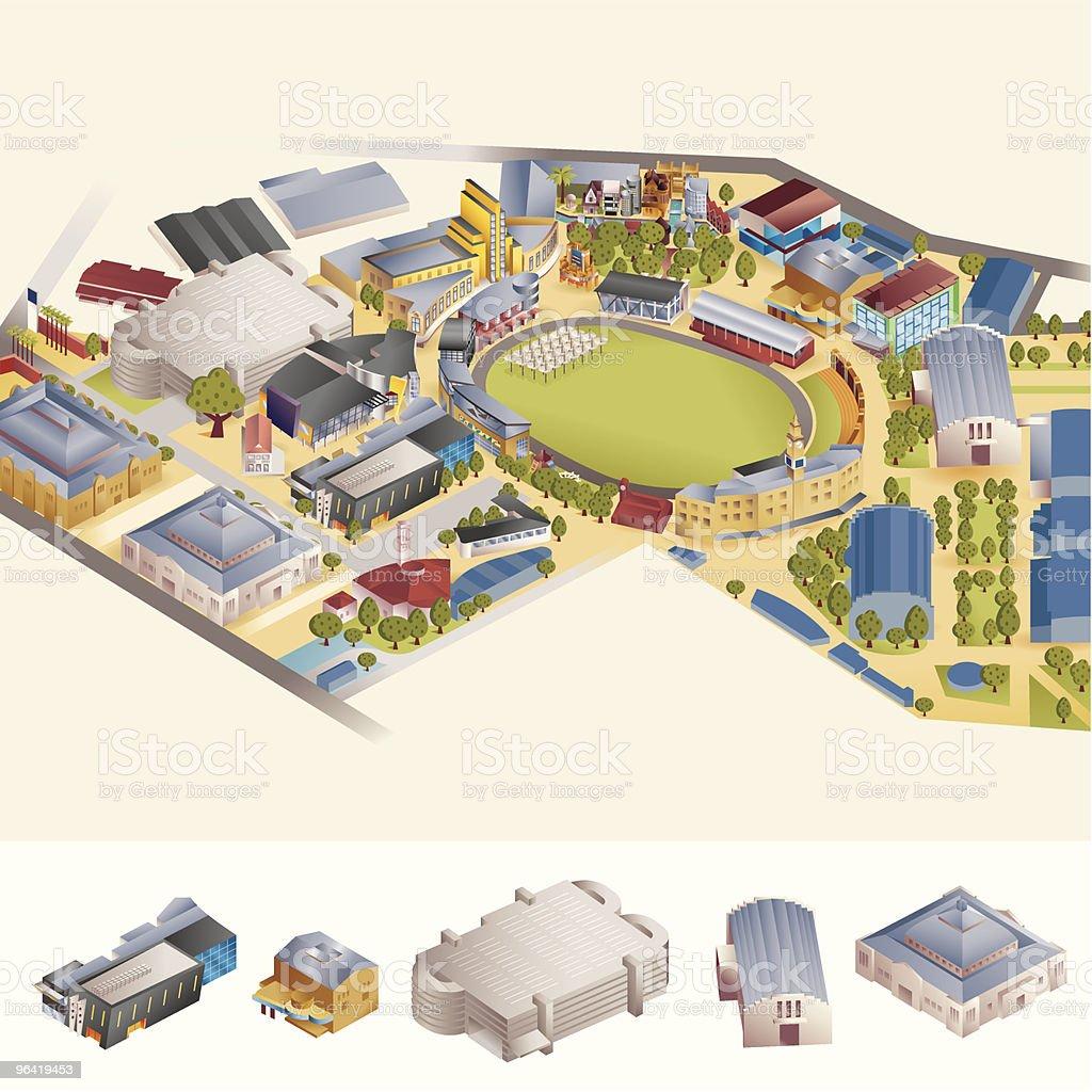 Event Location vector art illustration