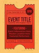 Event Ticket Annoucement