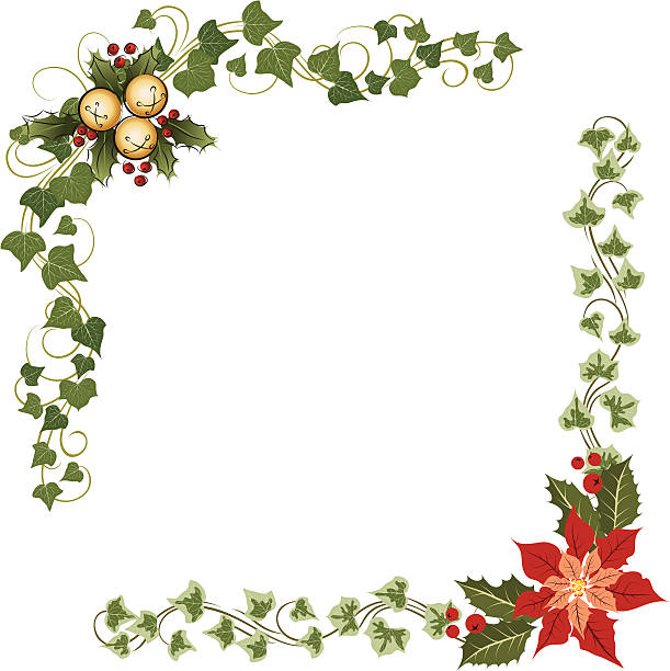 Best Holly And Ivy Illustrations, Royalty-Free Vector ...