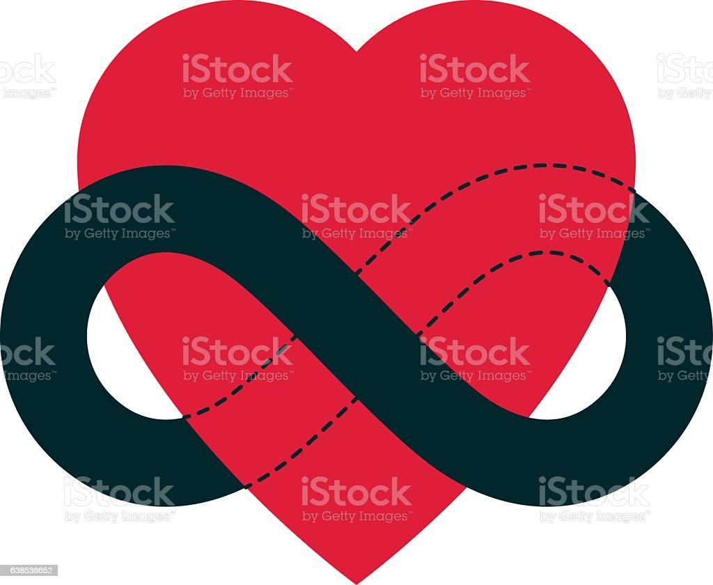 Everlasting love concept vector symbol created with infinity loop everlasting love concept vector symbol created with infinity loop sign royalty free stock vector biocorpaavc