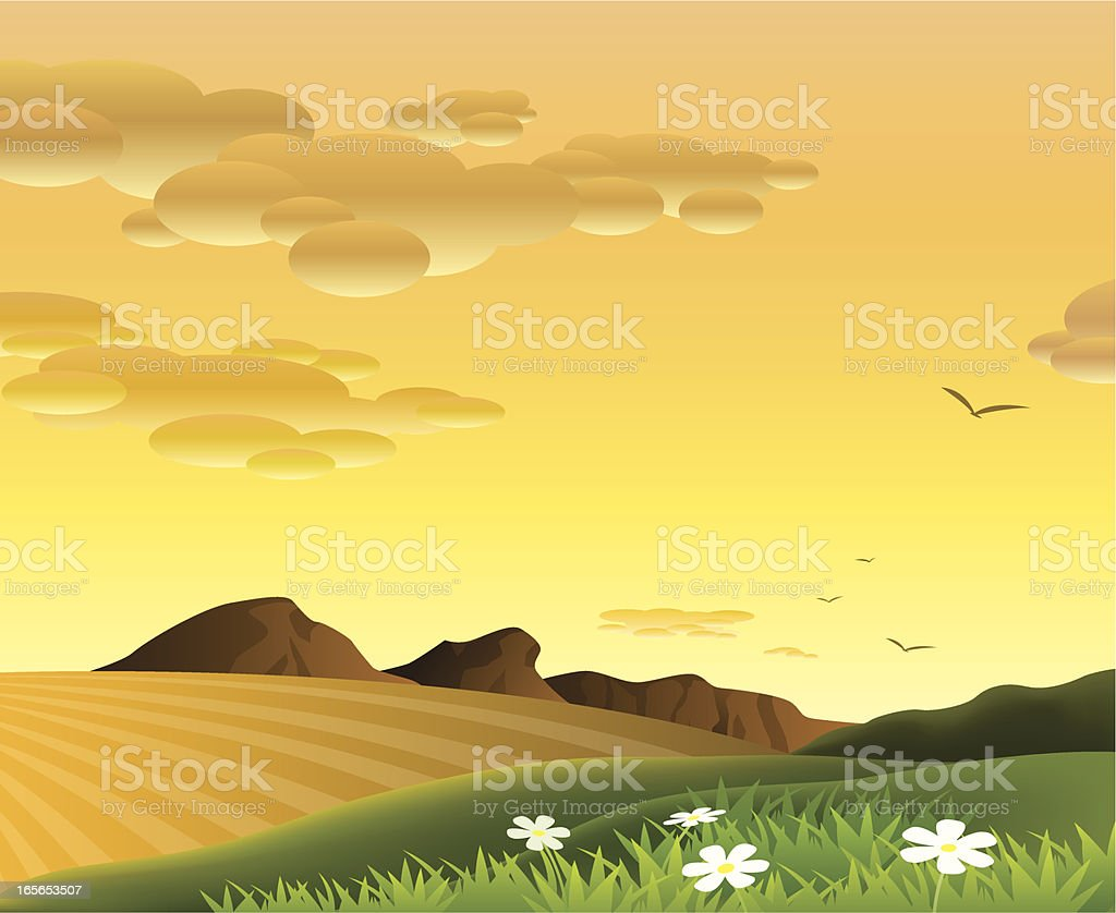 Everning royalty-free everning stock vector art & more images of backgrounds