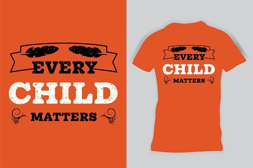 Every Child Matters Shirt, Orange Shirt Day Shirt, Orange T-Shirt Kids, Child Shirt