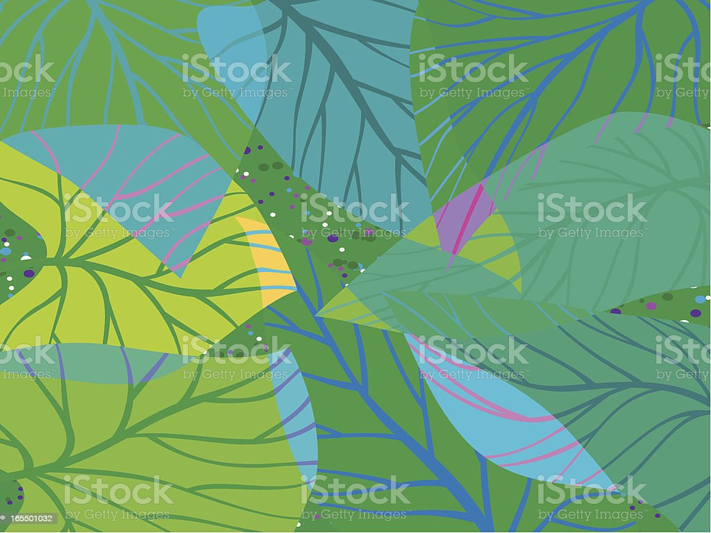 Every Leaf Speaks Bliss vector art illustration