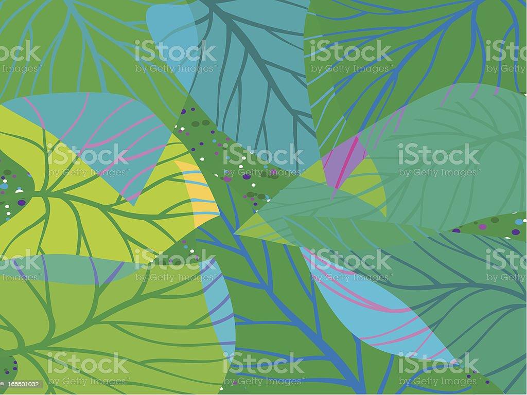 Cada folha de fala Bliss - ilustração de arte em vetor