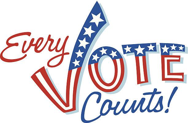 Every Vote Heading C Every Vote Heading C voting stock illustrations