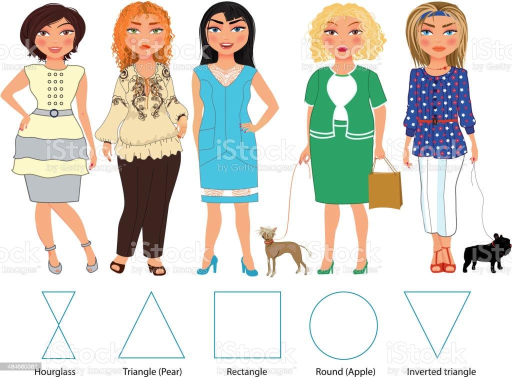 Todos los días de ropa - ilustración de arte vectorial