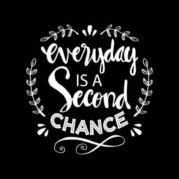 Second Chance Quotes Illustrations, Royalty-Free Vector ...