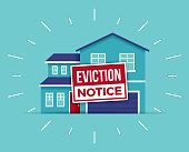 istock Eviction Notice Foreclosure Home 1262418867