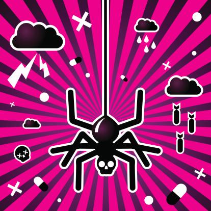Evil Black Spider