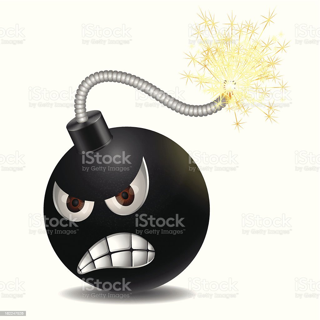 Evil bomb royalty-free evil bomb stock vector art & more images of aggression