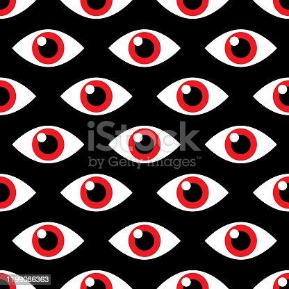 istock Evil Eye Pattern 1199086363