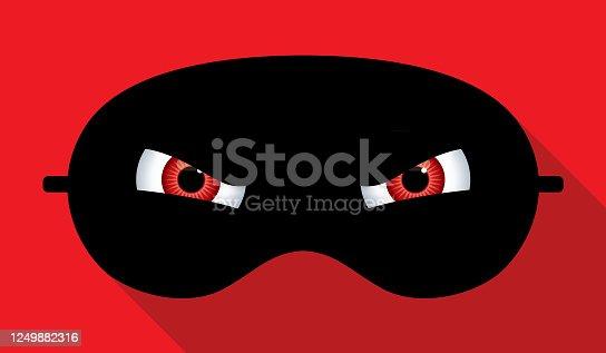 istock Evil Eyes Sleep Mask 1249882316
