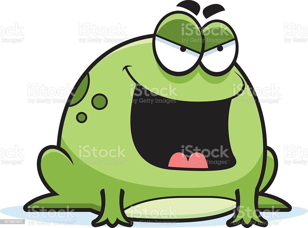 royalty free clip art of angry toad clip art vector images rh istockphoto com horned toad clipart horned toad clipart