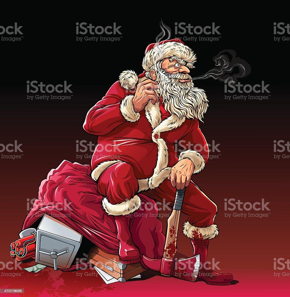 Babbo Natale Assassino.Niente Di Babbo Natale Killer Immagini Vettoriali Stock E Altre