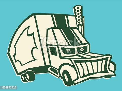 Evil Semi Truck Stock Vector Art & More Images of Business Finance ...
