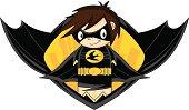 Evil Super Hero Graphic