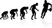 Evolution of the Rugby Player