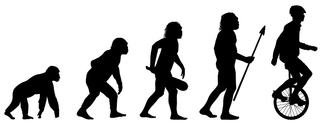 Evolution of the Unicyclist