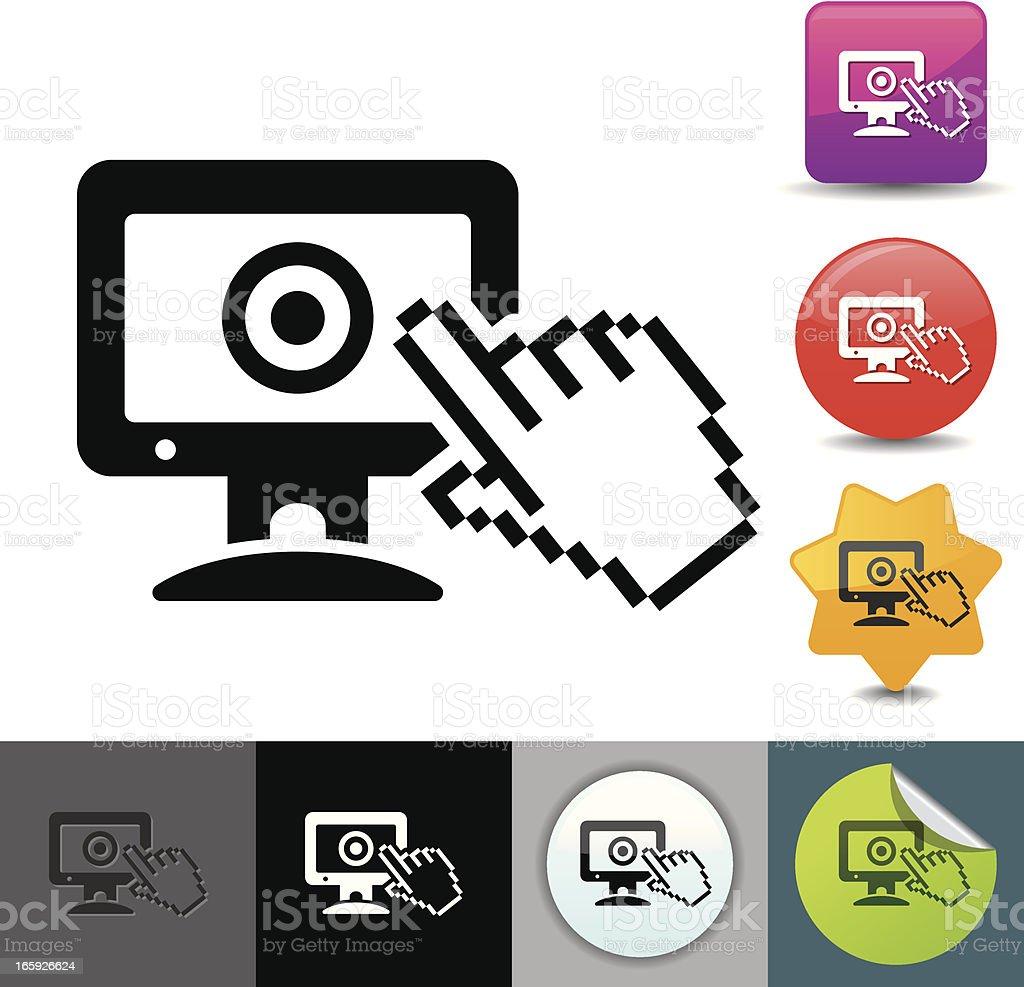 E-voting icon   solicosi series royalty-free evoting icon solicosi series stock vector art & more images of choice