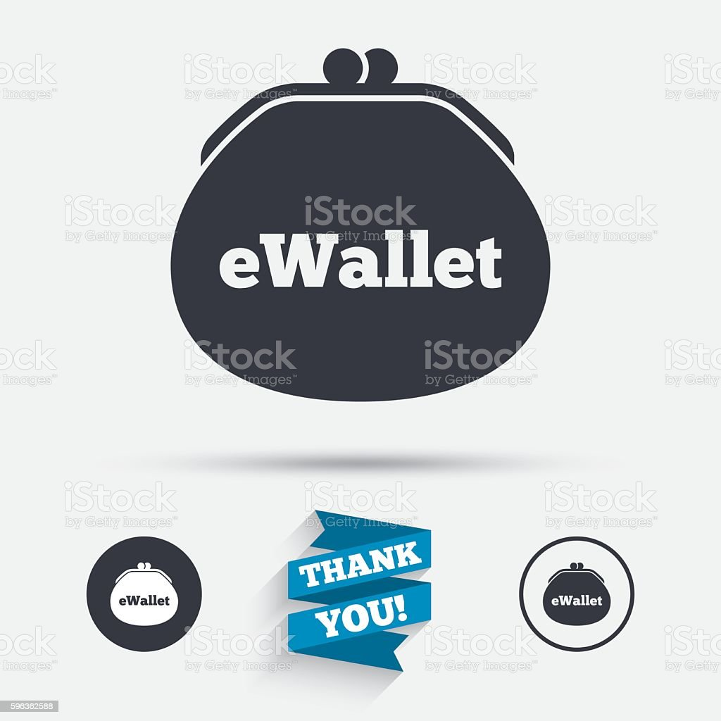 eWallet sign icon. Electronic wallet symbol. royalty-free ewallet sign icon electronic wallet symbol stock vector art & more images of badge