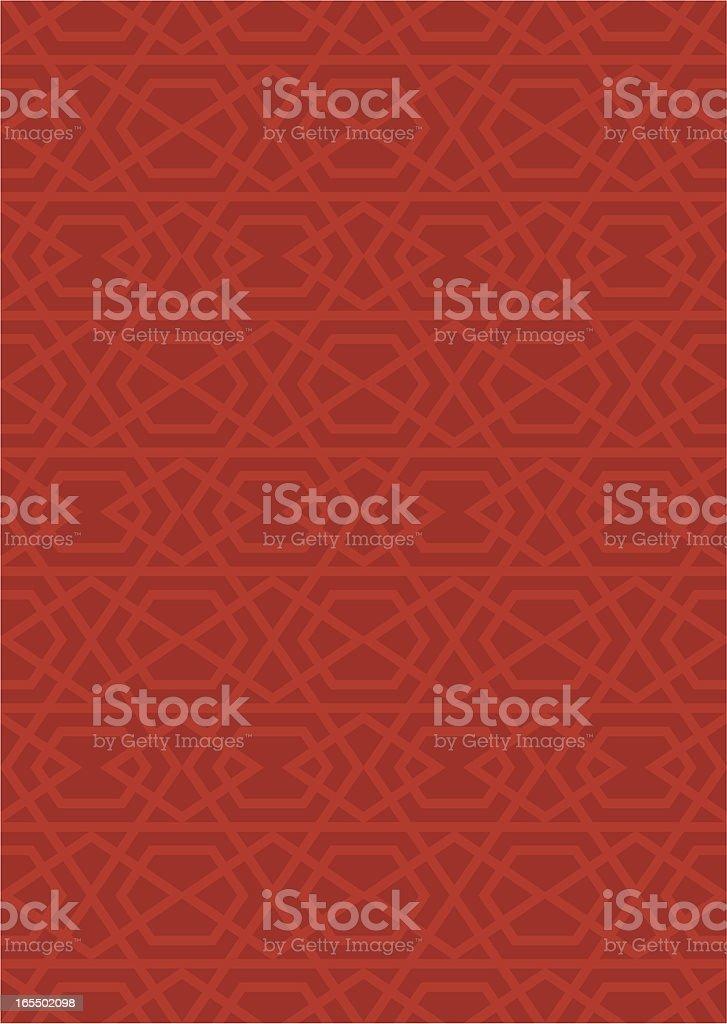 Exact Islamic pattern royalty-free stock vector art