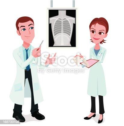 istock Examining x-ray 165733108