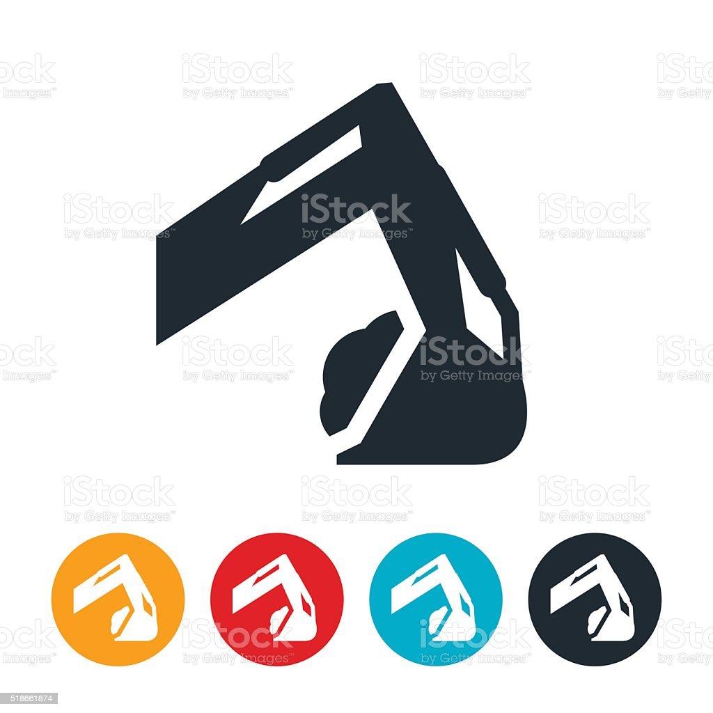 Excavator Arm – Vektorgrafik