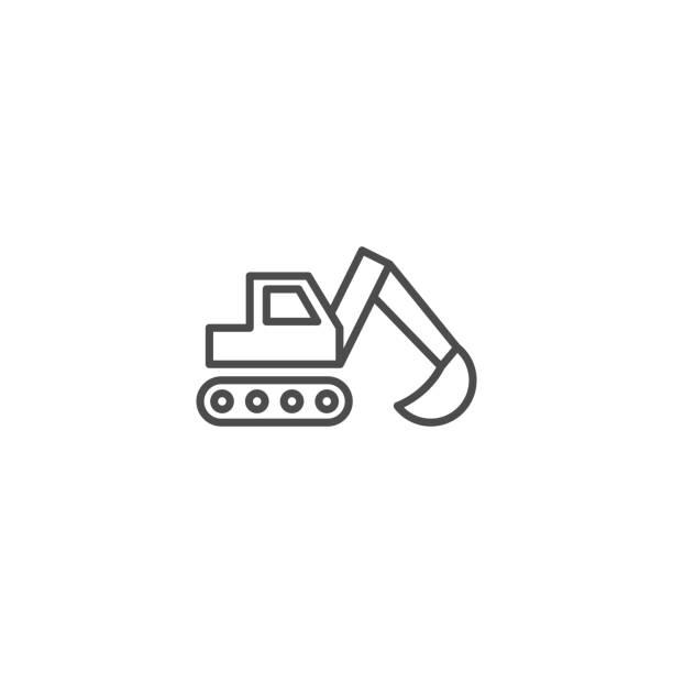 bagger vektor icon - bagger stock-grafiken, -clipart, -cartoons und -symbole