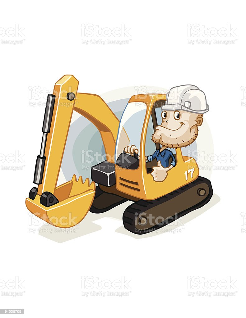 Construction Equipment Operator Cartoons Images Diagram Writing Sample Ideas And Guide