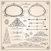 Excellent calligraphic frames