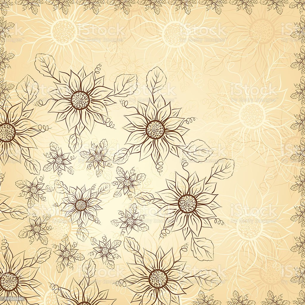 Excellent flowers background. royalty-free excellent flowers background stock vector art & more images of abstract
