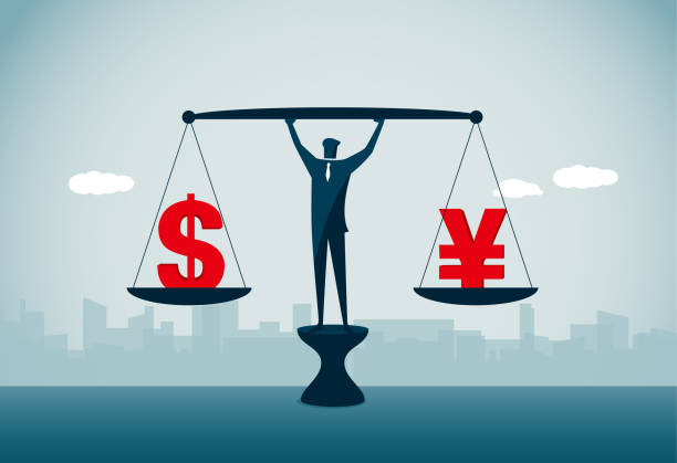 exchange rate commercial illustrator us currency stock illustrations
