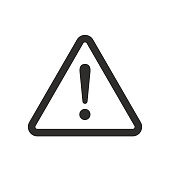 istock Exclamation Mark Sign Warning About An Emergency 1221750570