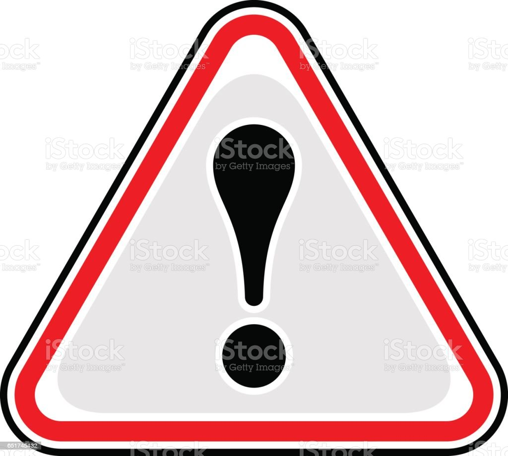https://media.istockphoto.com/vectors/exclamation-point-warning-icon-attention-hazard-sign-vector-id651745432?k=6&m=651745432&s=612x612&w=0&h=Uwj5lGj2Hb_0DmBO2YmENriMspMMYPha_uvoagDIaAk=
