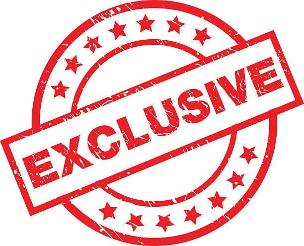 stockillustraties, clipart, cartoons en iconen met exclusive - exclusief