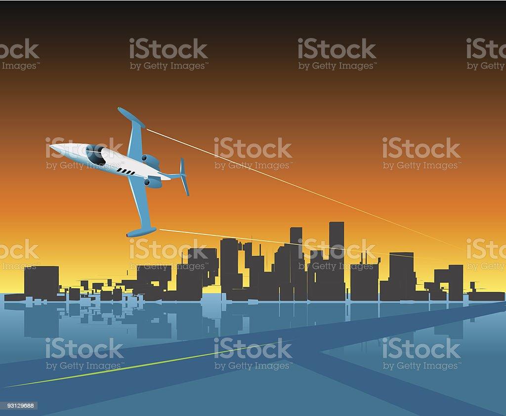 Executive Flypast royalty-free executive flypast stock vector art & more images of aerobatics