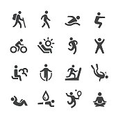 Exercise and Relaxation Icons