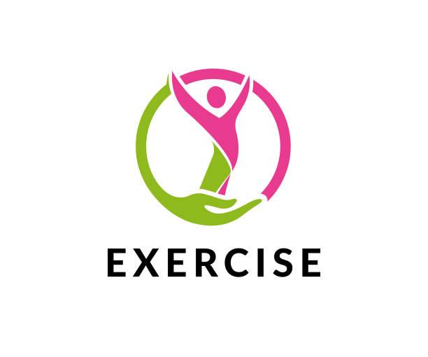 ilustrações, clipart, desenhos animados e ícones de ícone de vetor de ginásio de exercício - personal trainer