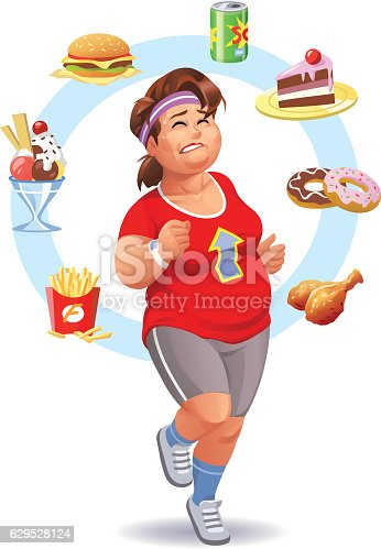 istock Exercising, Diet And Self-Control 629528124