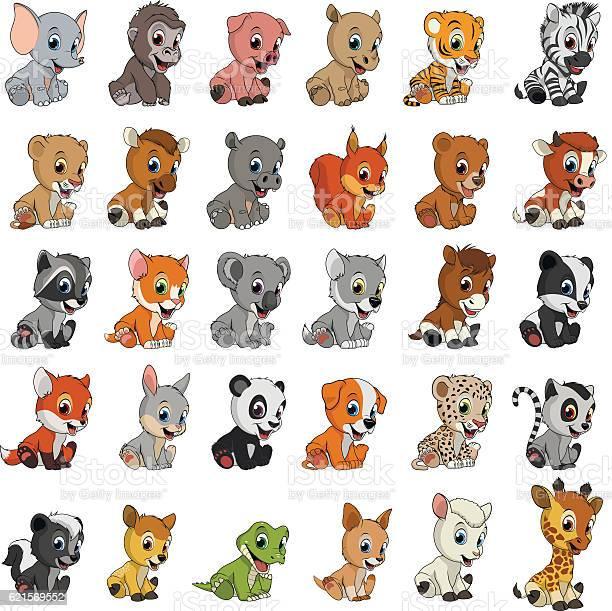 Exotic animals funny vector id621569552?b=1&k=6&m=621569552&s=612x612&h=sarmrepj4vvyhpfzwvr zycgvn2xf7nyj18b8x9vham=