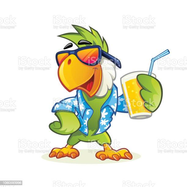 Exotic cartoon parrot with sunglasses vector id1060593996?b=1&k=6&m=1060593996&s=612x612&h=xbyjckk9w5p1rar ss xohnkoq02irc h spadekg8w=