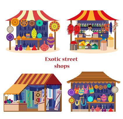 exotic street shops