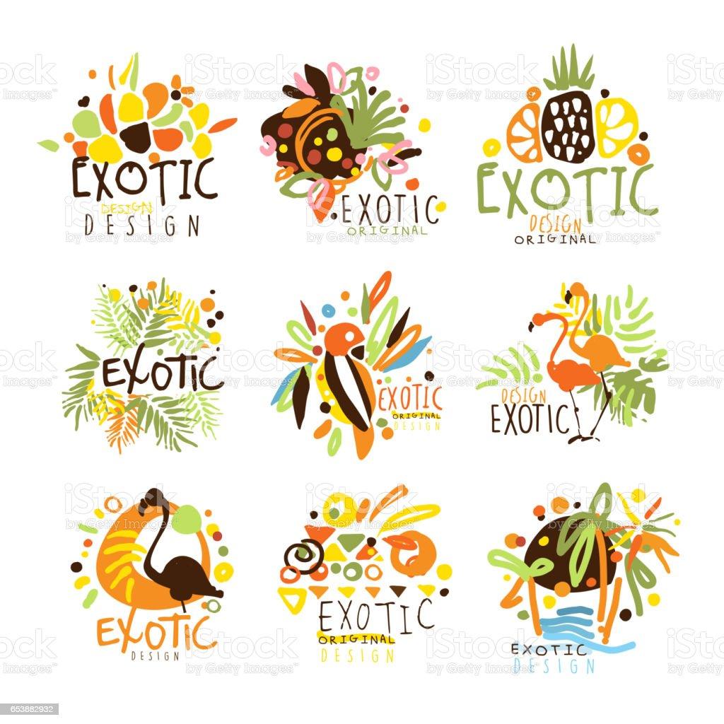Ilustración de Las Vacaciones De Verano Diseño Gráfico Colorido ...