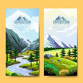 Expedition banner design
