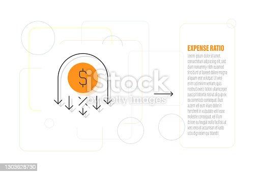 Expense Ratio Icon
