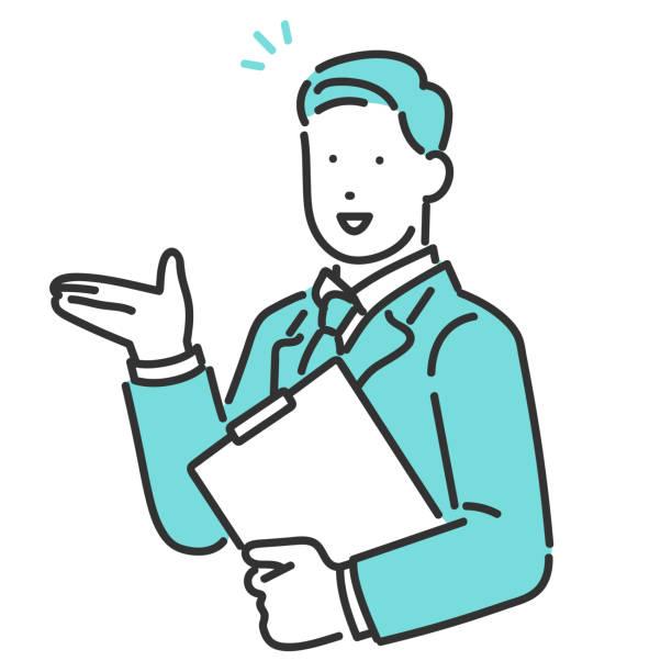 ilustrações de stock, clip art, desenhos animados e ícones de explain for customer - somente japonês