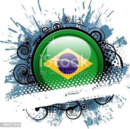 istock exploding brazilian flag banner 486037949