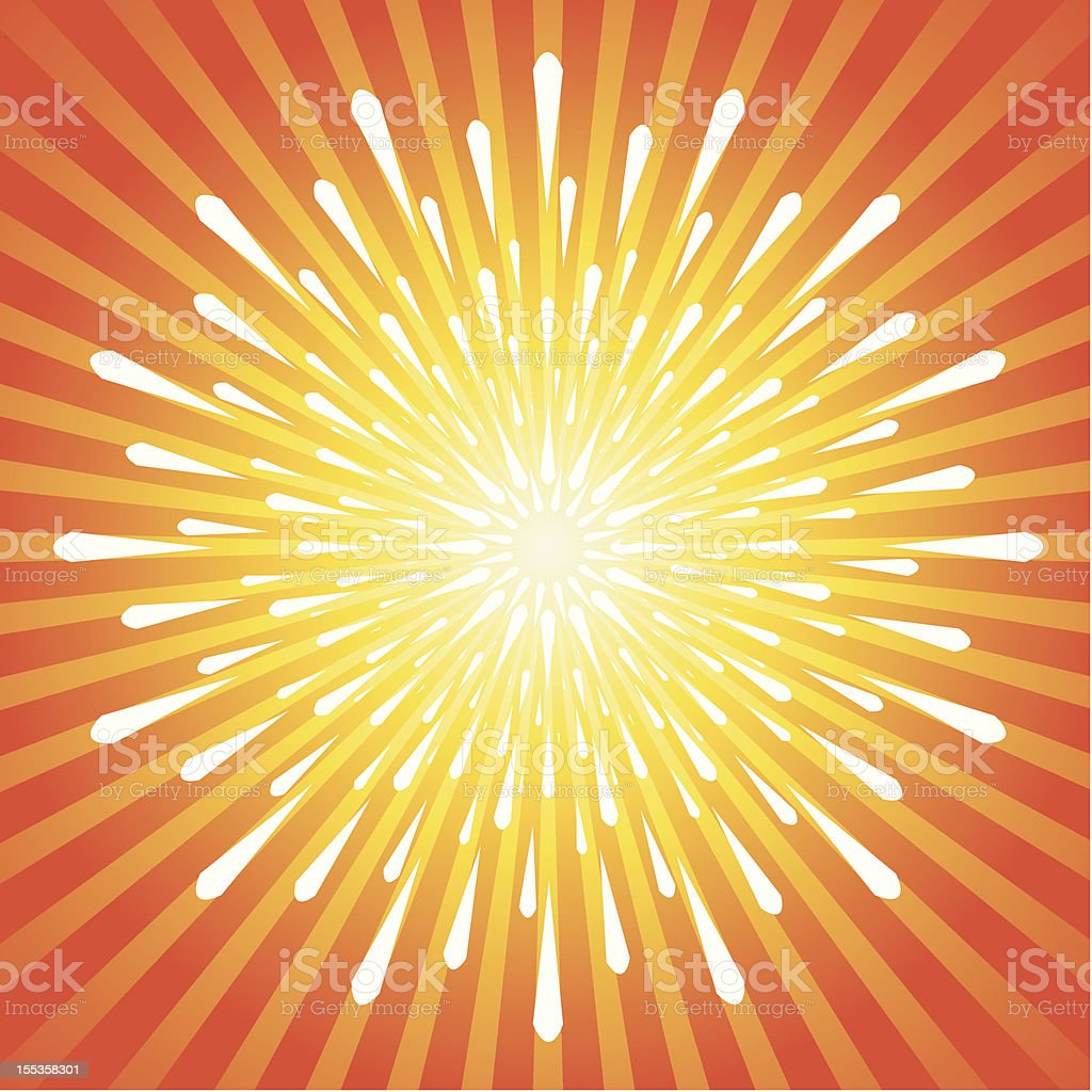 Exploding Burst Background royalty-free exploding burst background stock vector art & more images of abstract